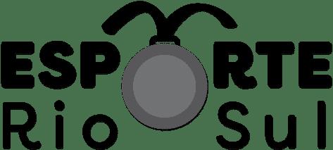 Logo Esporte Rio Sul Preto  - Esporte Rio Sul