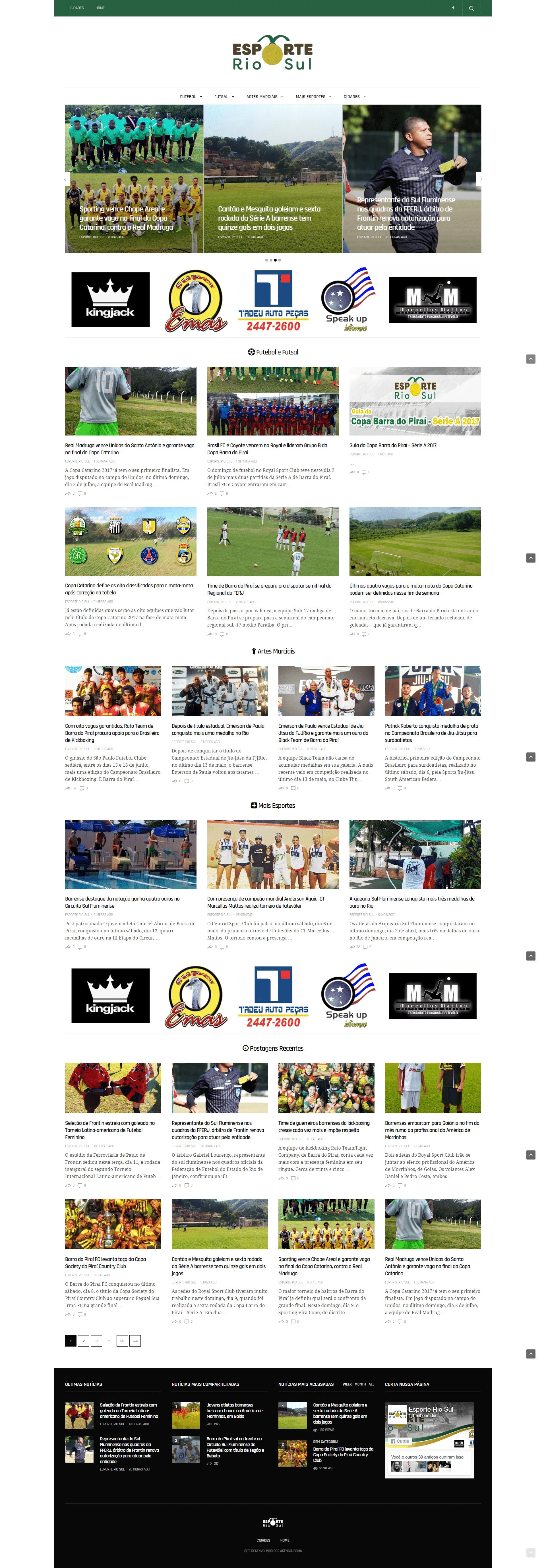 screencapture esporteriosul br 1499956627332 - Esporte Rio Sul