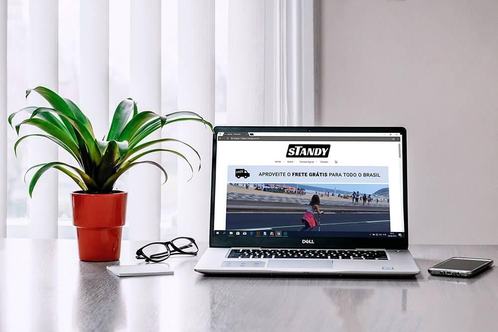 Portfolio Standy novo 2 - Site para pequenas empresas