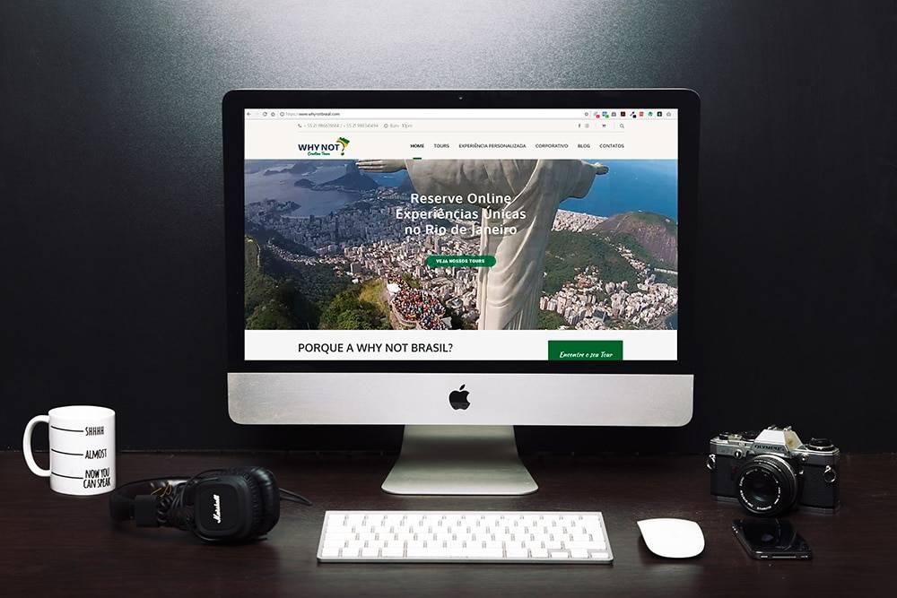 Site Why Not 2 - Site para pequenas empresas