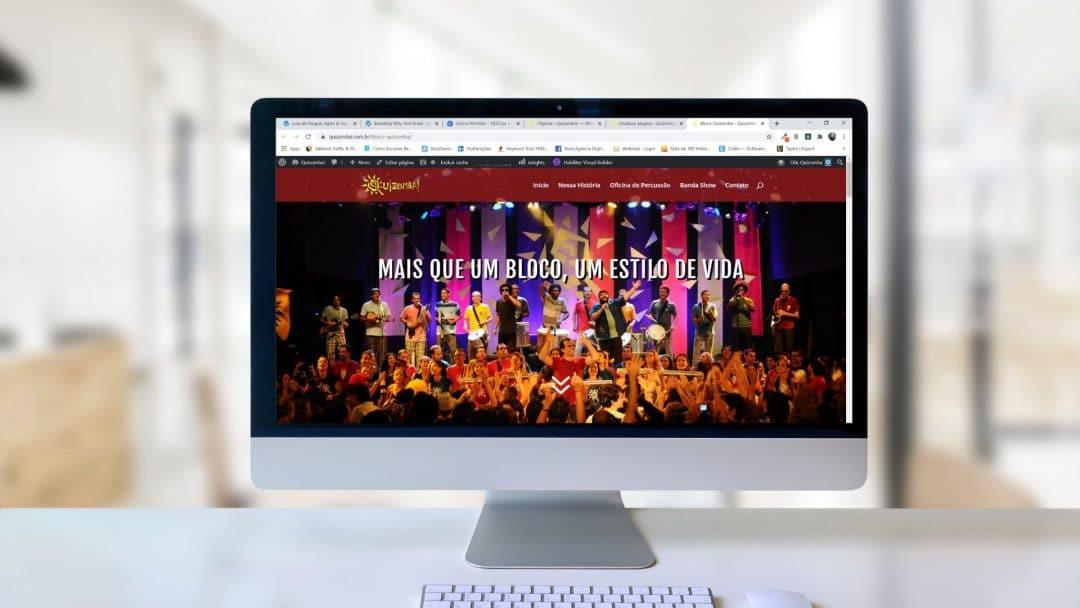 Quizomba 2 1080x608 - Site para pequenas empresas