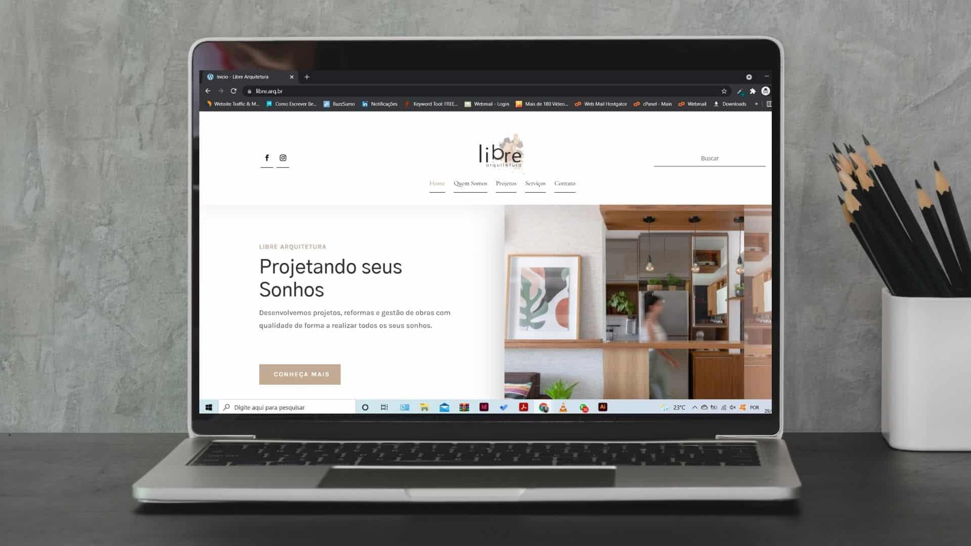 Agencia de Marketing Digital para Pequenas Empresas Goma 3 - Libre Escritório de Arquitetura